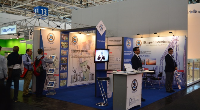 Skipper's Successful Debut at Hannover Messe 2014